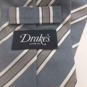 Recent Drakes mens tie stripe